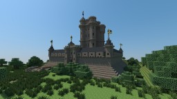 Medieval Château based on Vincennes [Aliquam] Minecraft Project