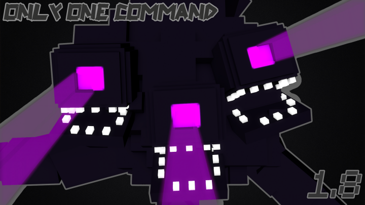 Minecraft One Command Block Wither Storm Boss Battle