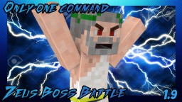Minecraft one command block- Zeus boss battle Minecraft Map & Project