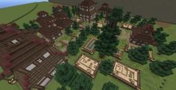 Japanese Zen-Village Minecraft Map & Project