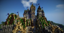 Medieval city Riverton Minecraft