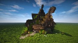 Rustic Fantasy House (Timelapse + Download) Minecraft