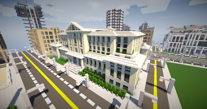 Greenfield Court House Minecraft Project