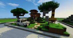 Safari House Minecraft Map & Project