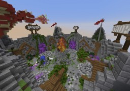 Xanthia 50x50 Spawn Minecraft Map & Project