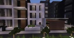 Modern townhouse inspiration | Serenity Minecraft Map & Project
