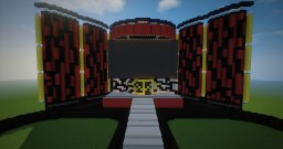WWE Seth Rollins Stage (2015) Minecraft Map & Project