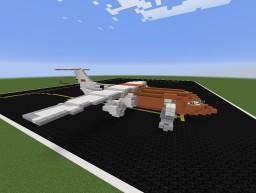 Avro RJ-100 TNT Minecraft Map & Project