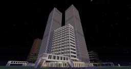 Original World Trade Center Complex Minecraft Map & Project