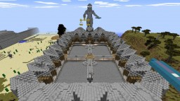PrisonMine 1.9 with few statues Minecraft Map & Project