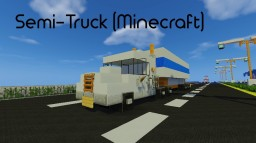 Semi Truck Minecraft Map & Project