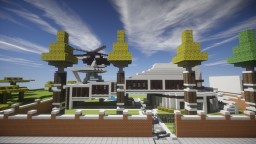 The Grace Residents - Fully furnished + downloadable Minecraft Map & Project