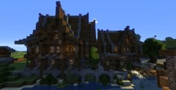 Medieval Houses (Medieval Project) Minecraft Map & Project