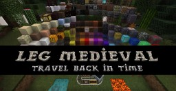 LEG Medieval Resource Pack - Travel Back In Time!