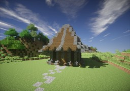 A simple medieval house Minecraft Map & Project