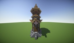 -=Medieval Tower=- Minecraft