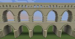 Modular Roman Aqueduct Minecraft Map & Project