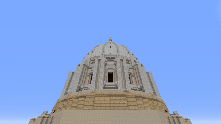 NEW version with the dome-section finished on the outside. Currently working on the interior.