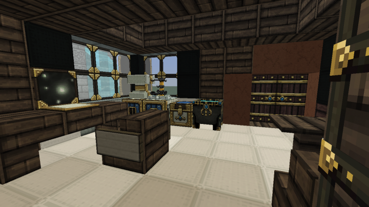 The interior of JaysNarlyWorlds house