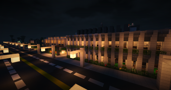 Modern Classroom Blocks ~ Clinton modern highschool minecraft project