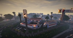 Bright Moon Gas Station Minecraft Map & Project