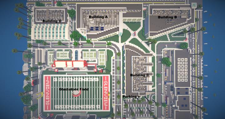 Greenfield Preparatory Academy Minecraft Project