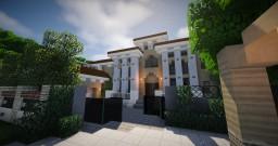 Mediterranean Mansion Minecraft Map & Project