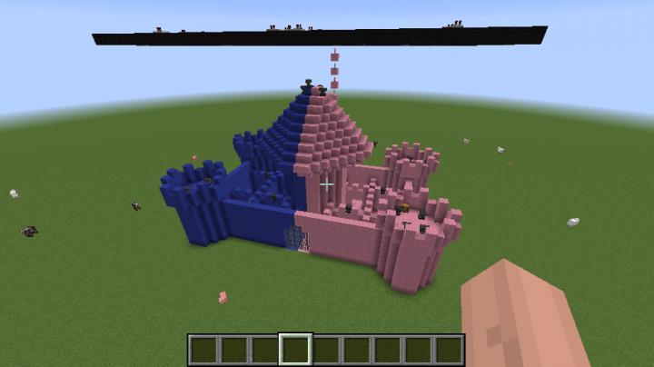 TNT castle