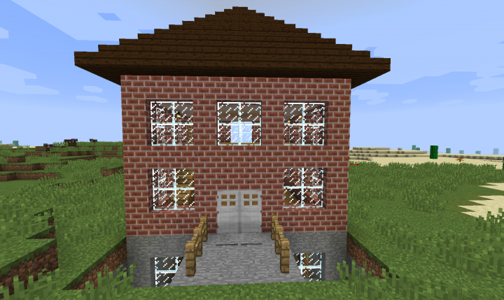 Unfurnished House Minecraft Project
