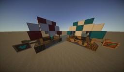 -=Medieval Market Booth=- Minecraft