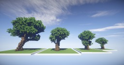 Custom tree pack #1 Minecraft Project