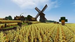 Chéile éadrom - A medieval village Minecraft Project
