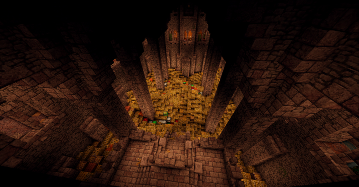The Treasury - totally not inspired by Erebor -
