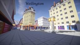 Wellington- A British city (on progress) Minecraft Map & Project