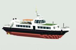 Passenger boat Minecraft Map & Project