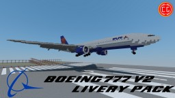 [Download] Boeing 777 Remake - Livery Pack Minecraft Map & Project