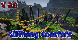 [Rollercoaster Map] Cliffhang Coasters [V 2.0][Download] Minecraft