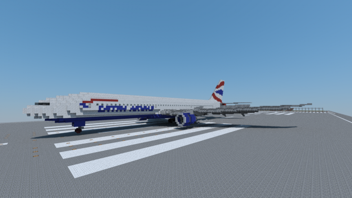 British Airways 777-300ER touchdown