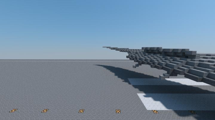 British Airways 777-300ER touchdown - wing
