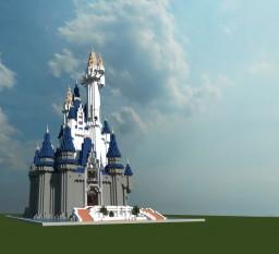 Cinderella's Castle (Disney Florida) Minecraft