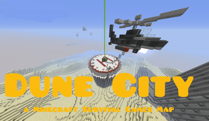 Dune City - A Minecraft Survival Games Map [For now no release date