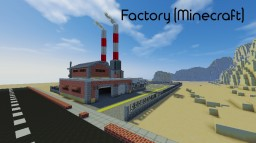 Factory Minecraft Map & Project