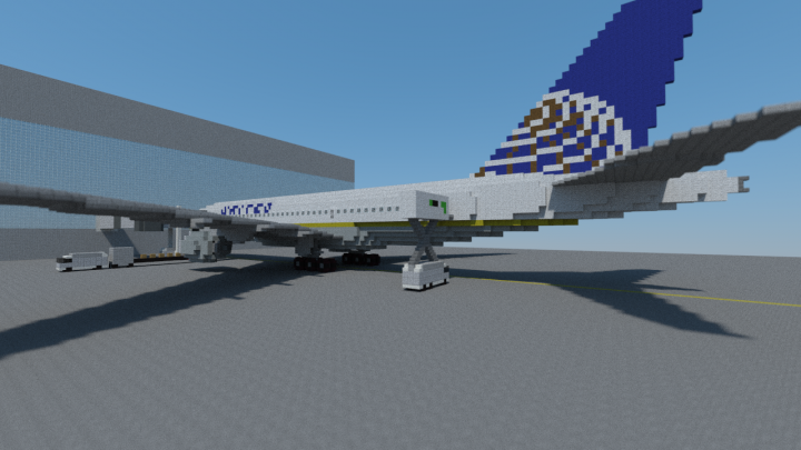 United 777-200ER tail