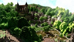 [Minecraft Timelapse] Project | Stadtfelsen, a medieval castle Minecraft Map & Project