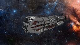Heavy Class transport shuttle Minecraft Map & Project