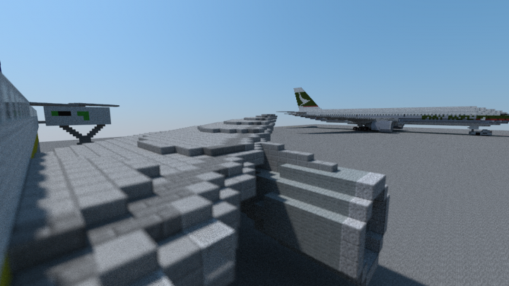 Engine View 2 - No swept wingtip