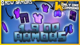 OVERPOWERED ARMORS with only one command block