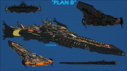 Plan B Heavy Rocket Cruiser Minecraft Project