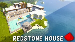 Redstone Modern House (Beach House) Minecraft Blog
