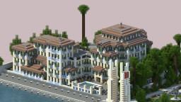 Mediterranean Hotel Minecraft Map & Project